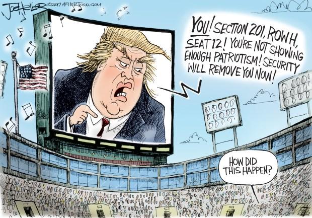 newsletter-2017-10-02-trump-nfl-national-anthem-cartoon-heller