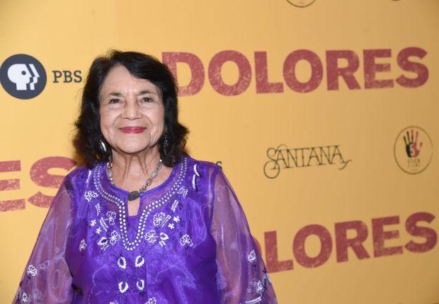 """Activist Dolores Huerta attends the """"Dolores"""" ..."""