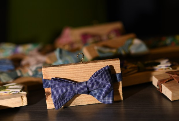 Paul Hunter's bowties were recently given ...