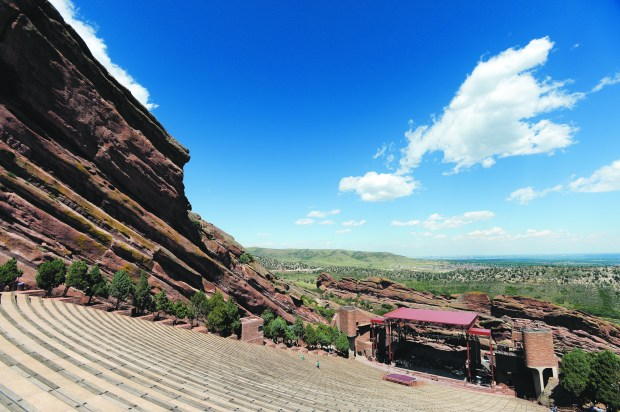 Red Rocks Park, where Colorado's famous amphitheater is located, was named a National Historic Landmark by the National Park Service and Department of the Interior in 2015.