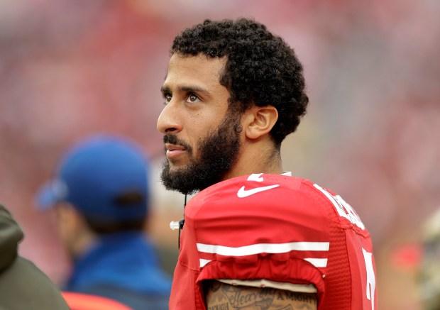 San Francisco 49ers quarterback Colin ...
