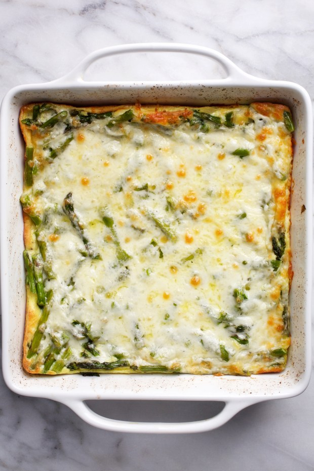 Oven Asparagus Puff.