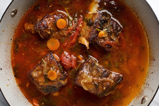 Braised Short Ribs of Beef.