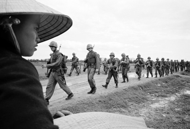 "Marines on the ground in Ken Burns and Lynn Novick's PBS documentary ""The Vietnam War."""