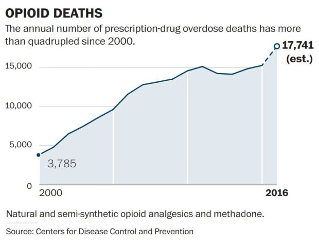 opioid death graphic