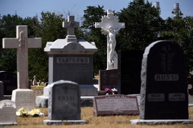 Riverside Cemetery in Denver, Colorado