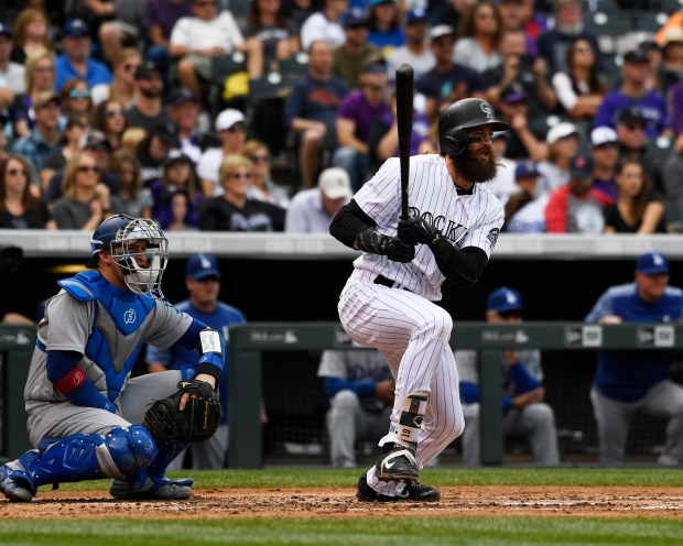watch 2bace b0a20 Charlie Blackmon wins the NL batting title; Rockies peaking ...