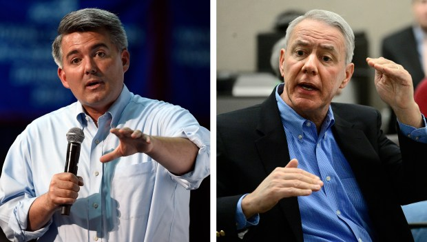 U.S. Sen. Cory Gardner, R-Colo., and U.S. Rep. Ken Buck, R-Colo., are two of the NRA's biggest recipients of campaign support.