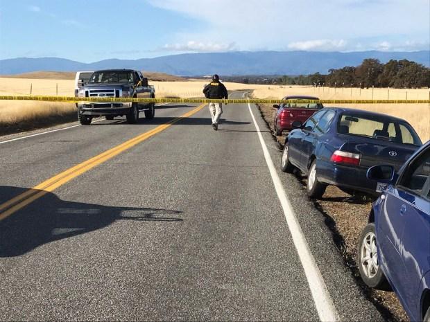 Crime tape blocks off Rancho Tehama ...