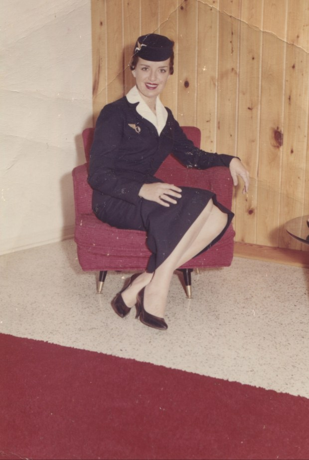 Bette Nash began her career as a flight attendant in 1957 when her Eastern Air Lines uniform included a pillbox hat