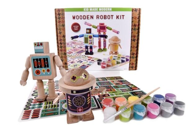 Wooden Robot Kit. ...