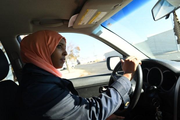 Hodan Karshe, a Somali woman, moved ...