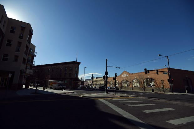 The historic Five Points Cultural District ...