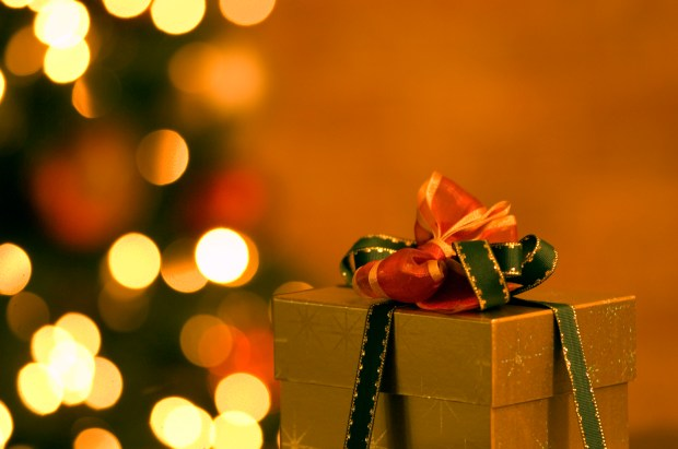 Presents and a Christmas tree