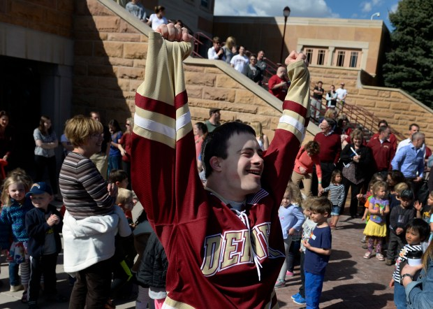 DU hockey fan Peter Naffah, 30, ...