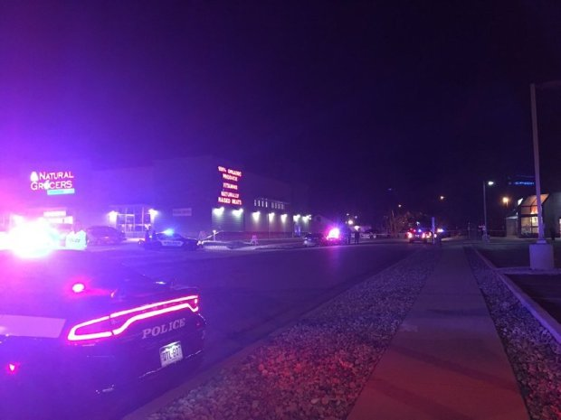 A man was shot and killed by a Colorado Springs police officer in the 1500 block of South Nevada Avenue around 6:30 p.m. Saturday, police spokesman Lt. Howard Black said.