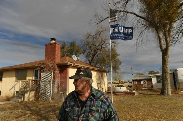 Jim Underwood, 73, a retired truck ...