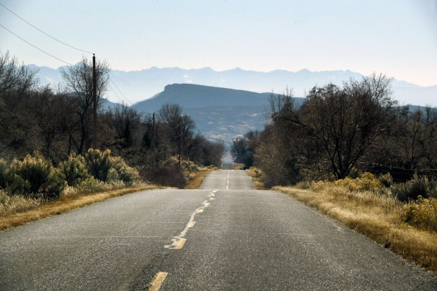 Long empty county roads are part ...