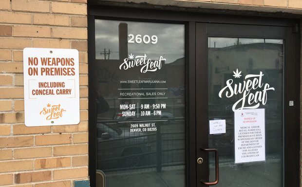 Sweet Leaf marijuana denver