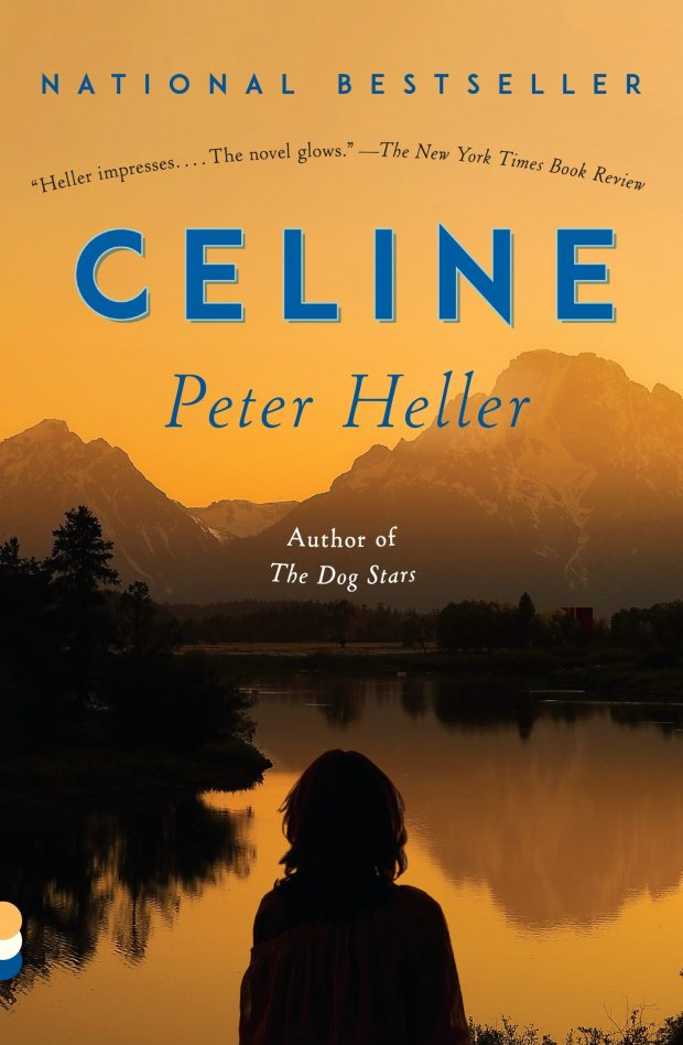 "The paperback jacket for ""Celine"" by Peter Heller. (Vintage; Reprint edition (January 2, 2018)"