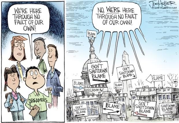 newsletter-2018-01-29-government-shutdown-cartoon-heller