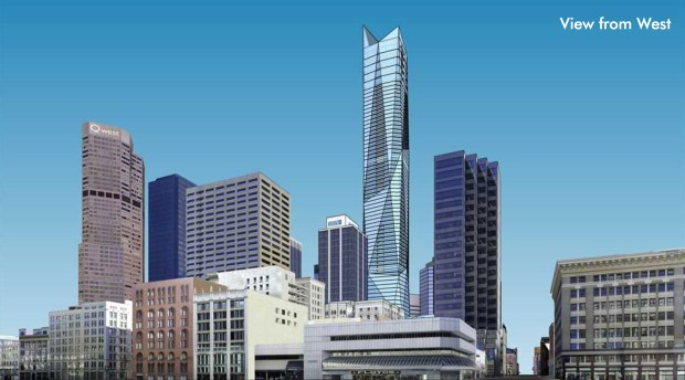 New York City-based developer Greenwich Realty Capital wants to build Denver's tallest building, a 1,000-foot-tall, 81-story skyscraper. The building would include residential units, hotel rooms and a restaurant and bar and would be located at 17th and California streets.