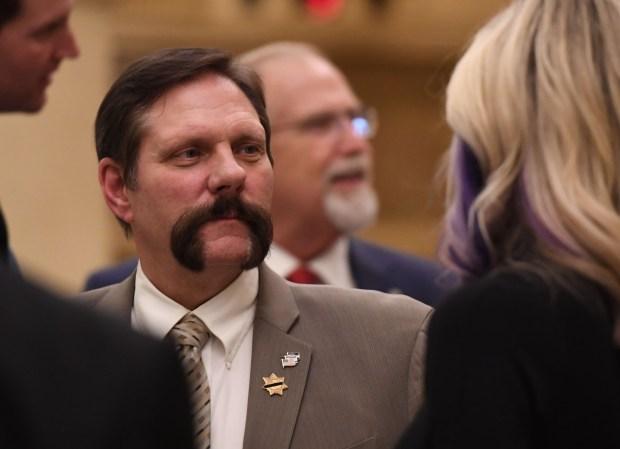 State Sen. Randy Baumgardner, a Republican ...