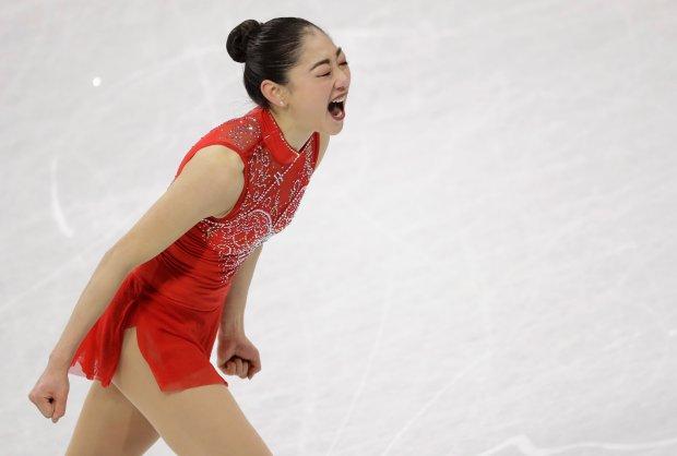 Mirai Nagasu of the United States ...