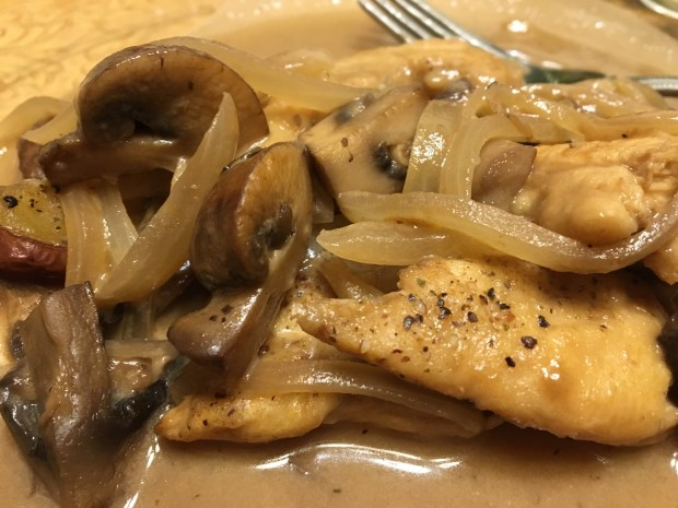 Chicken marsala takes advantage of the way a fortified wine plays well with mushrooms and onions.