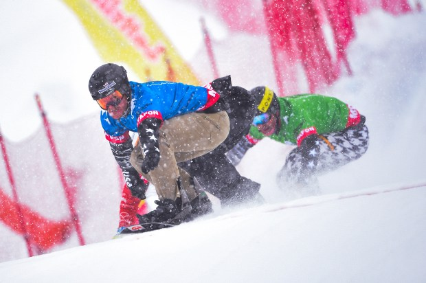 Mick Dierdorff of USA competes during ...