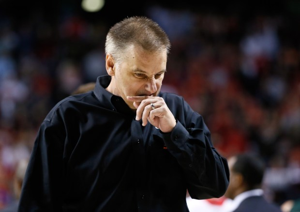 Head coach Larry Eustachy of the ...