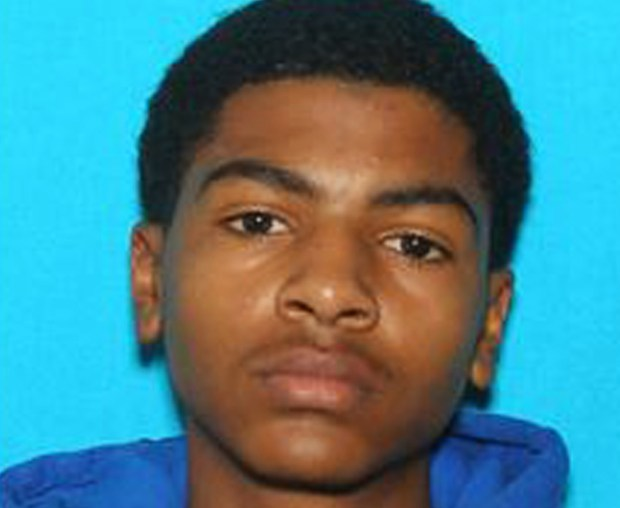 """This undated photo provided by Central Michigan University shows James Eric Davis Jr., who police identified as the shooting suspect at a Central Michigan University residence hall on Friday, March 2, 2018. Investigators said neither victim was a student and described the shooting as a """"family-type domestic situation."""""""