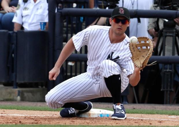 New York Yankees first baseman Greg ...