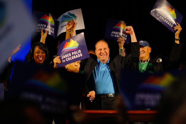 U.S. Representative Jared Polis, a Democratic ...