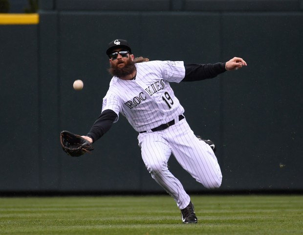 Colorado Rockies center fielder Charlie Blackmon ...