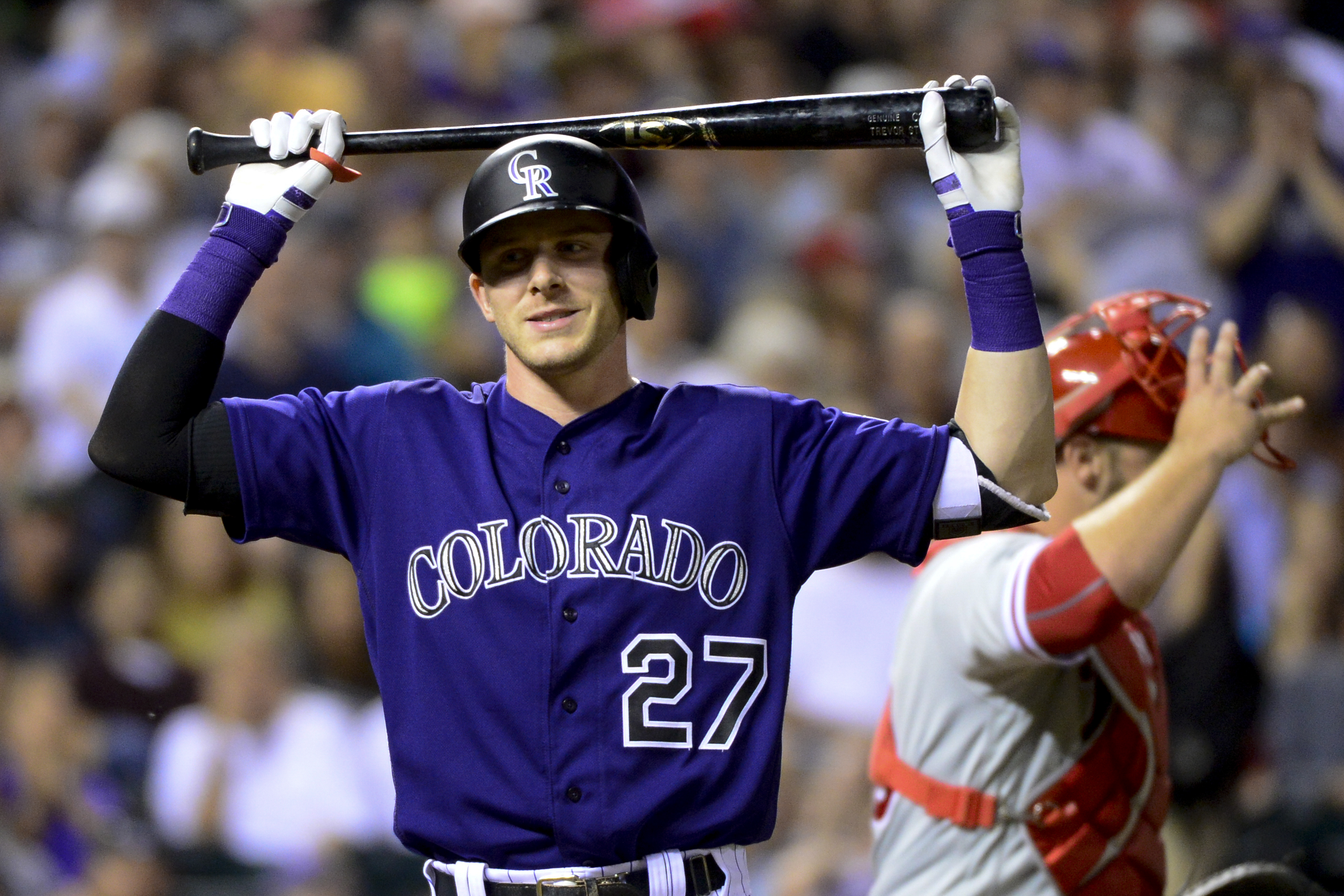 Trevor Story of the Colorado Rockies