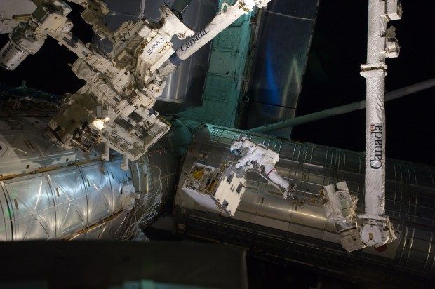 The Canadarm2 is currently operating on ...