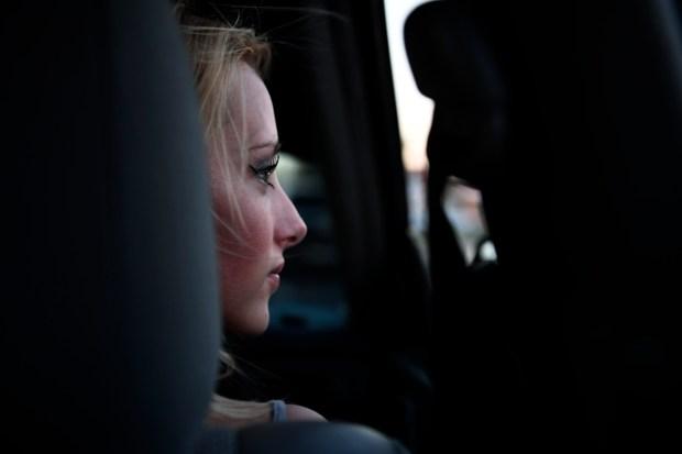 Sarah Janeczko, 20, with her boyfriend ...