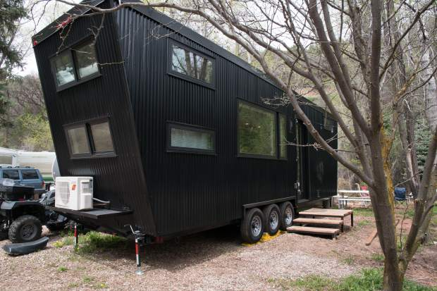 "First ""tiny home"" comes to Glenwood Springs – The Denver Post"