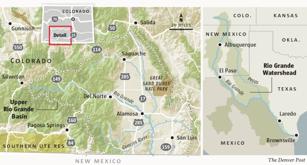 Due to extreme drought conditions, the main stem of the Rio Grande probably won't make it out of Colorado to New Mexico this summer, state water authorities calculate, let alone Texas and Mexico.