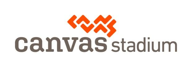 Canvas Stadium logo.