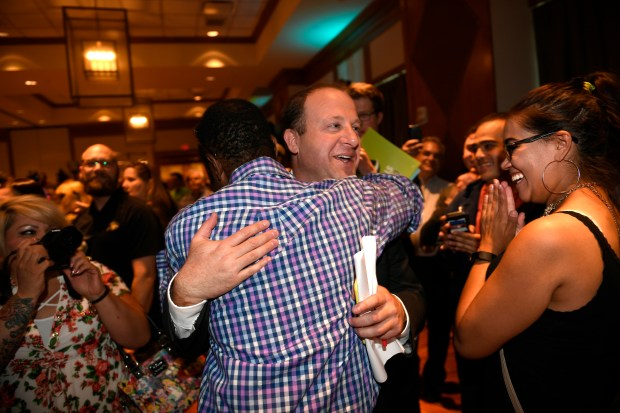 Democratic gubernatorial candidate Jared Polis gets ...