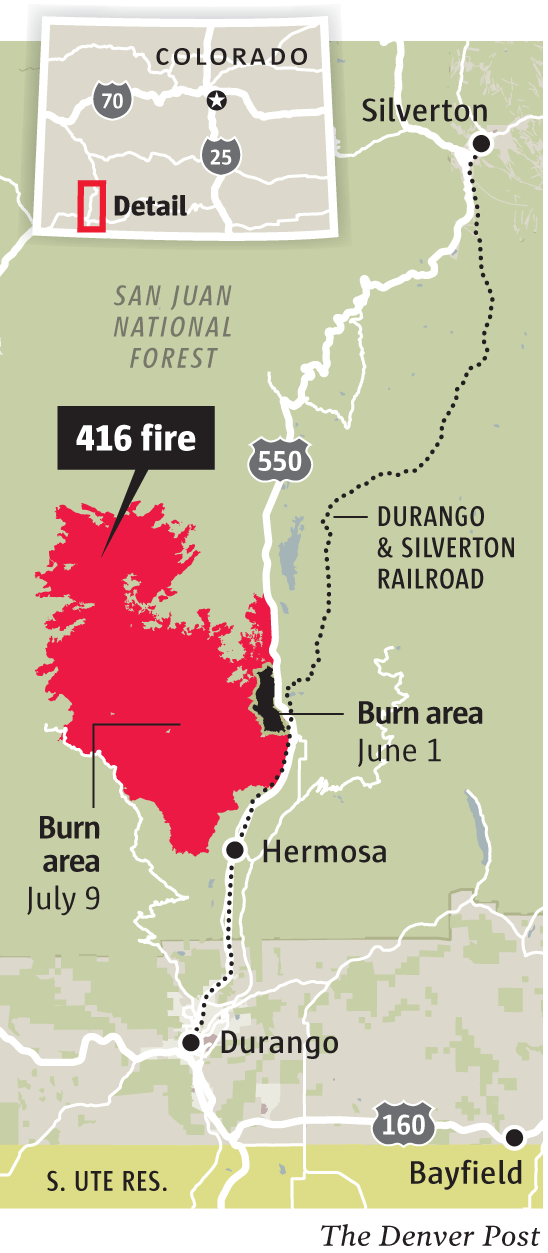 416 Wildfire Cause Under Investigation As Durango Questions Whether