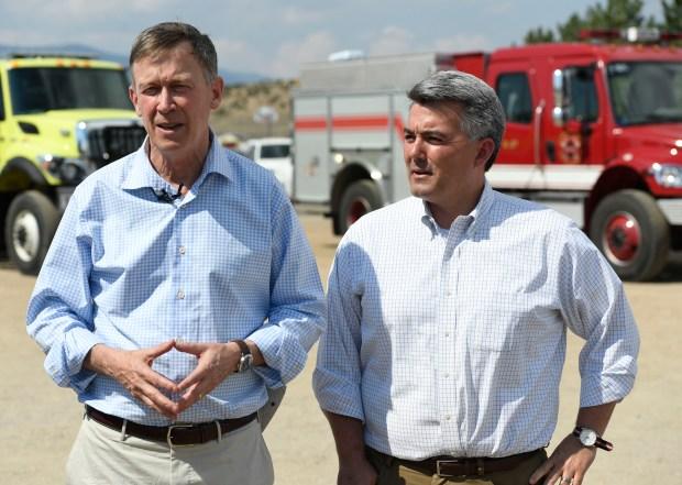 Colorado Governor John Hickenlooper and U.S. ...