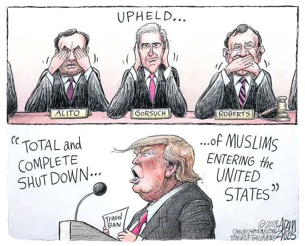 Adam Zyglis, The Buffalo News, NY