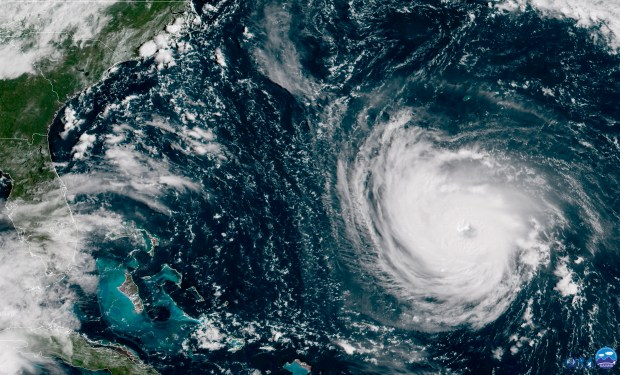 This GOES East satellite image taken ...