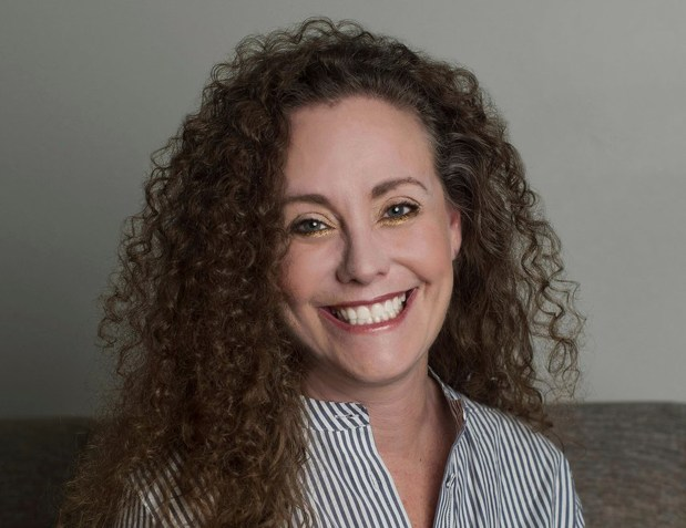 This undated photo of Julie Swetnick ...