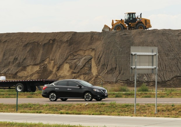 Two sections of Colorado's I-25 under construction