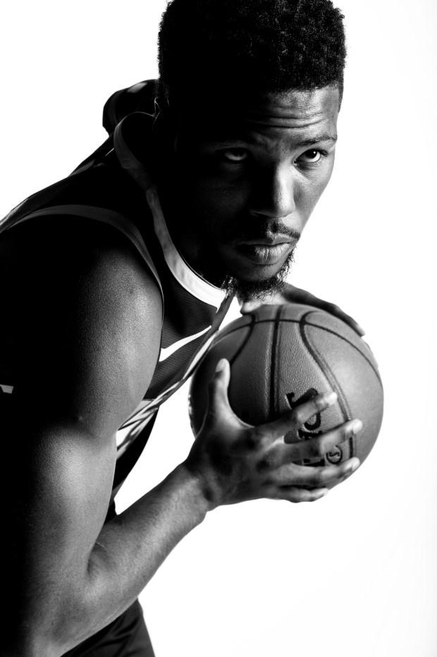 Malik Beasley (25) of the Denver ...