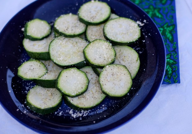 Easy parmesan zucchini on Aug. 29, ...